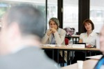 Dorothea Krimitsas, Deputy Head of Public Relations, International Committee of the Red Cross (ICRC) and Prof Jackie Harrison, Chair, Centre for Freedom of the Media (CFOM), University of Sheffield
