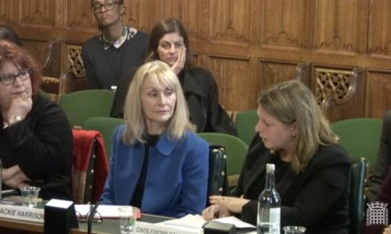 Jackie Harrison gives evidence at the Foreign & Commonwealth Office's Foreign Affairs Committee on Global Media Freedom