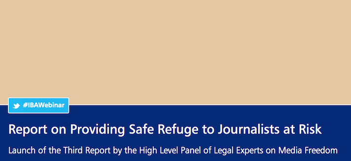 New landmark report calls on Media Freedom Coalition States to create an emergency visa for journalists at risk