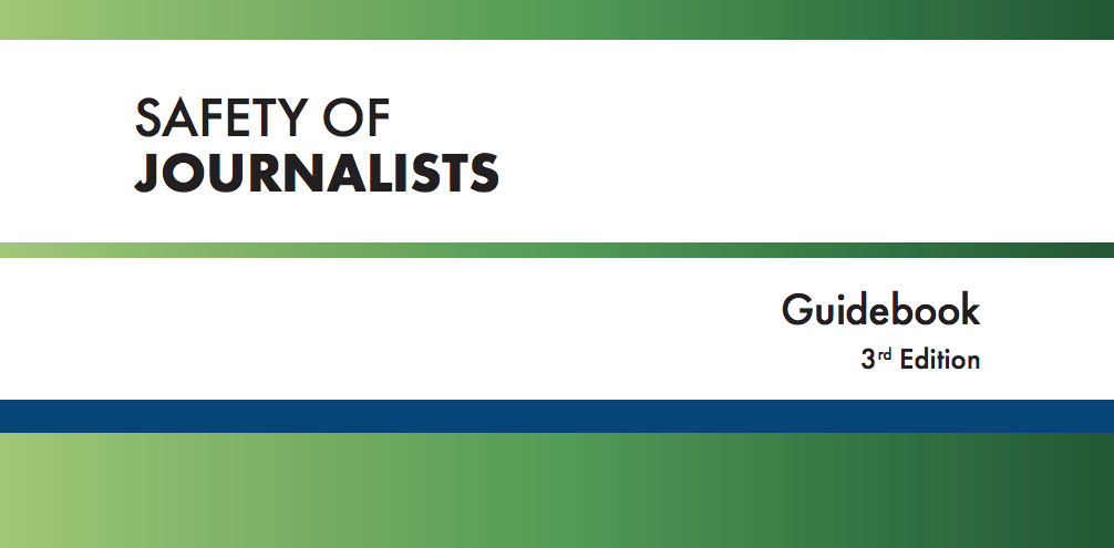 New edition of the OSCE Safety of Journalists Guidebook authored by William Horsley now published