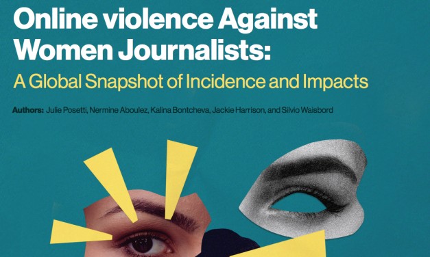 Just published: a global snapshot of findings from the UNESCO/ICFJ Online Violence Against Women Journalists Project